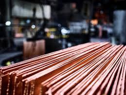 copper cathodes -  2020