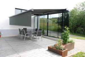 Windschutz Terrasse